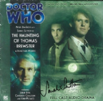 Doctor Who  The Haunting of Thomas Brewster (CD COVER ONLY) signed by Sarah Sutton 1318